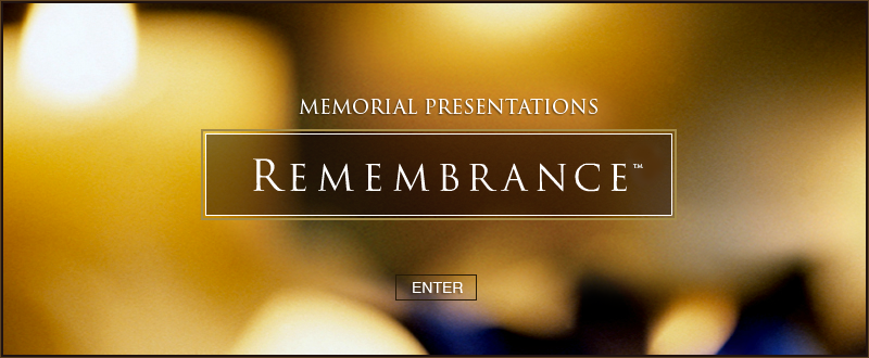 Remembrance Presentations DVD